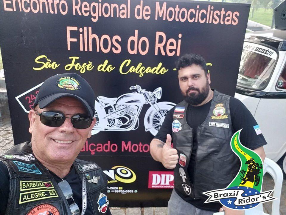 Hugo Castelo Branco, Coordenador Regional Brazilriders em Castelo ES...