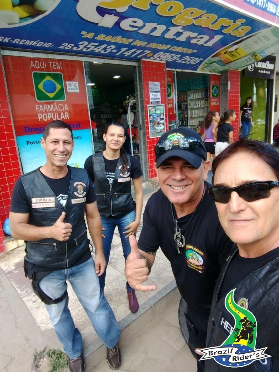 Agradeço ao amigo Barbosinha pelo convite, quero muito ajudar aos irmãos, ótima instituição de apoio aos motociclistas estradeiros.