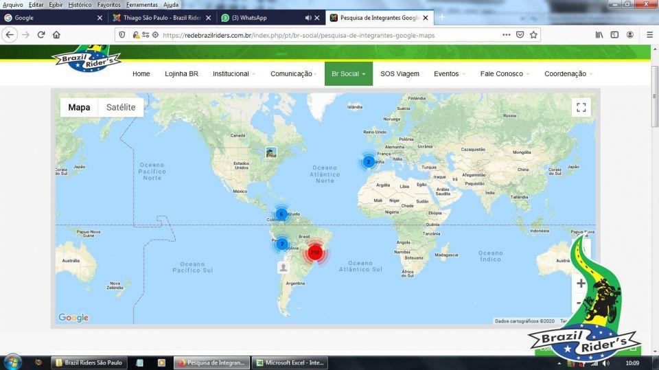 """Caros integrantes do Estado de São Paulo.<br />Tenho recebido consulta pra saber se o site esta """"Fora"""" mas o que acontece é o seguinte:<br />Estamos com uma nova ferramenta de busca de Integrantes (do Brasil e exterior) sobre a plataforma do Google Maps. Para tanto é necessário atualizar o seu cadastro. Se, ao fazer seu LOGON aparecer a tela de aviso (foto 1), significa que seu cadastro precisa ser atualizado.<br />Depois de atualizado o cadastro, voce poderá ir no menu BR SOCIAL e PESQUISA DE INTEGRANTES GOOGLE MAPS e navegar e encontrar todos os cadastros que foram atualizados...<br /><br />Um abraço do Salsicha."""